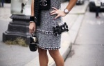 Chanel Dress Street Style Accessories