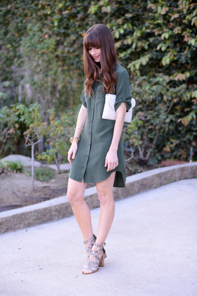 Slim_Signature_Silk Shirtdress