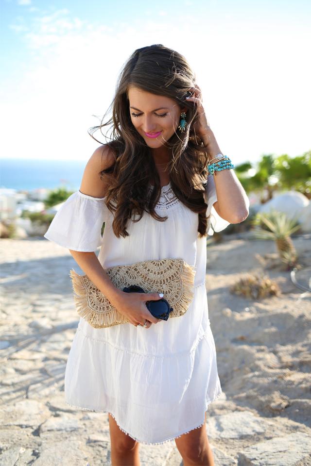 white dress cabo