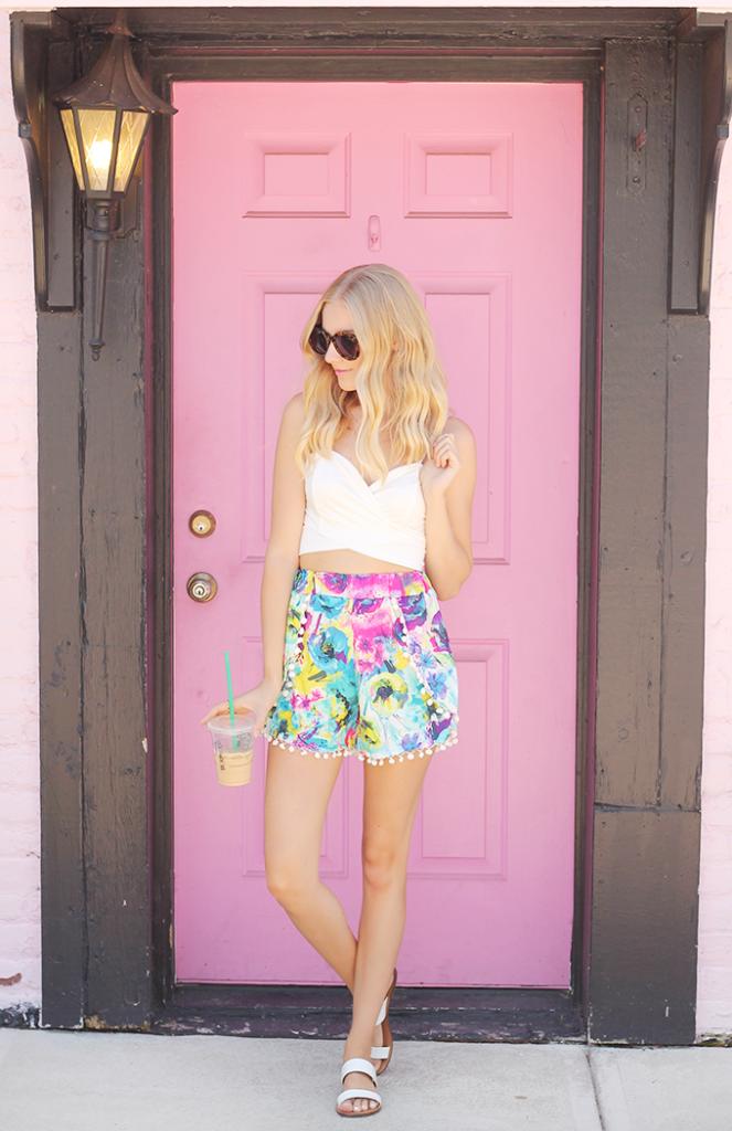 Floral-Pom-Pom-Shorts-1-663x1024