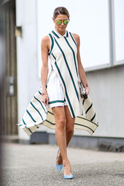 Lacoste dress.