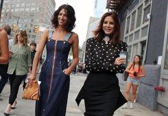 Natasha Zinko dress and a Loewe bag.