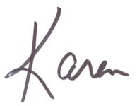 signature Karen