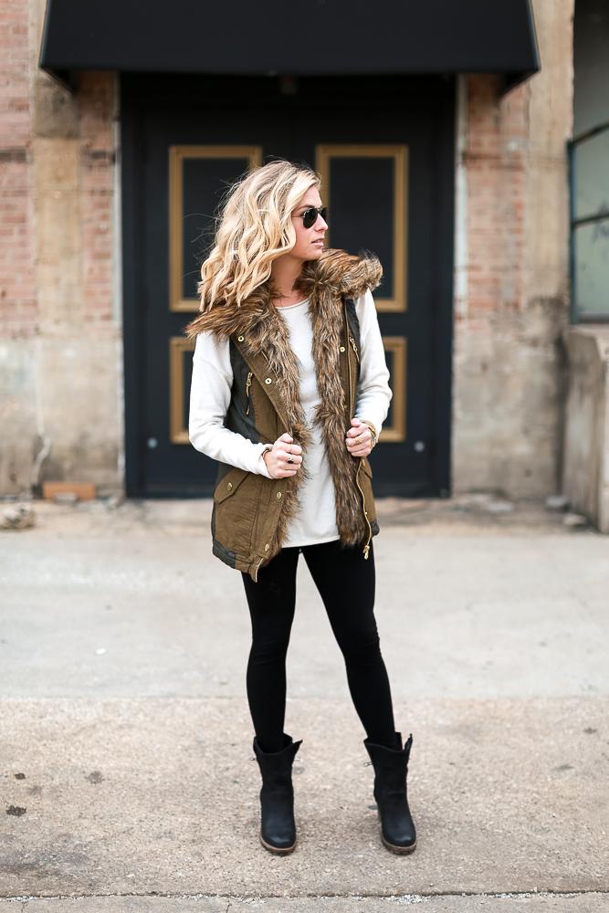 Spread - Faux Fur Vest