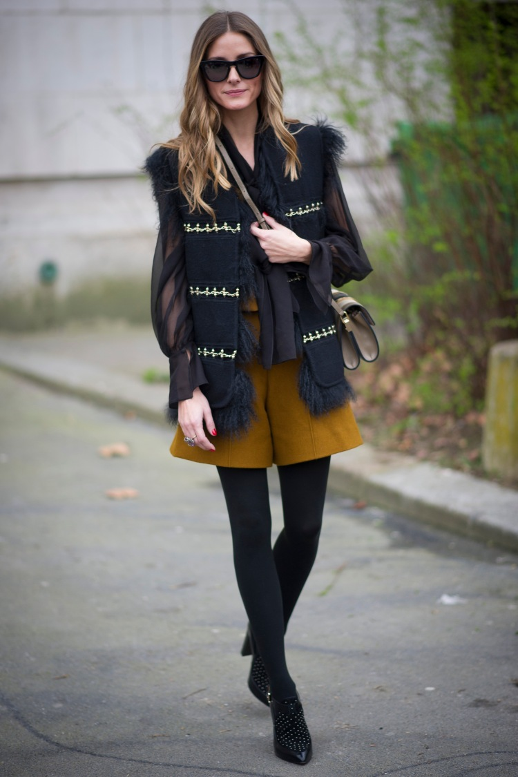 Street Style - Day 6 : Paris Fashion Week - Womenswear Fall/Winter 2014-2015
