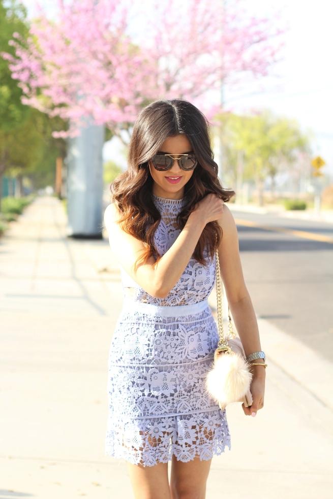 Blue Lace Dress 003