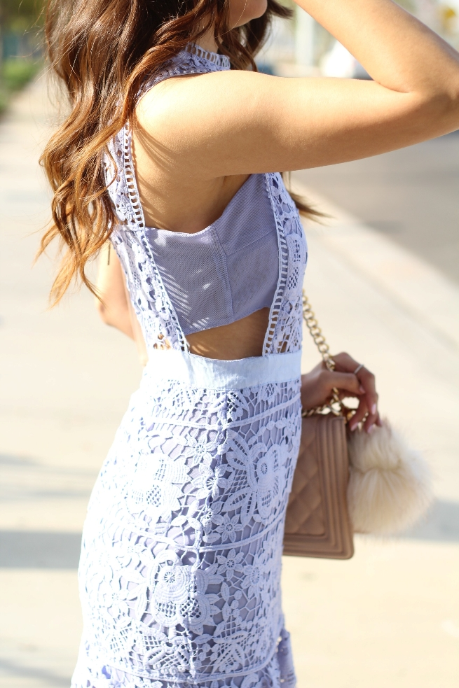 Blue Lace Dress 004