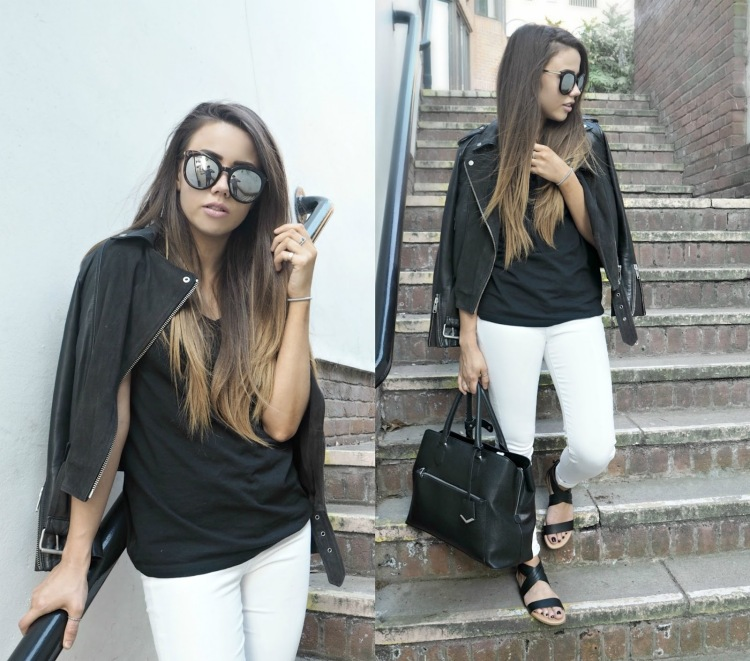 copper garden, fashion and lifestyle blogger, new look collaboration, monochrome outfit