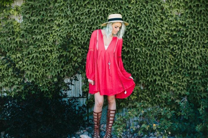 Free People, Boho, Utah Fashion Blogger, Summer Outfit 5