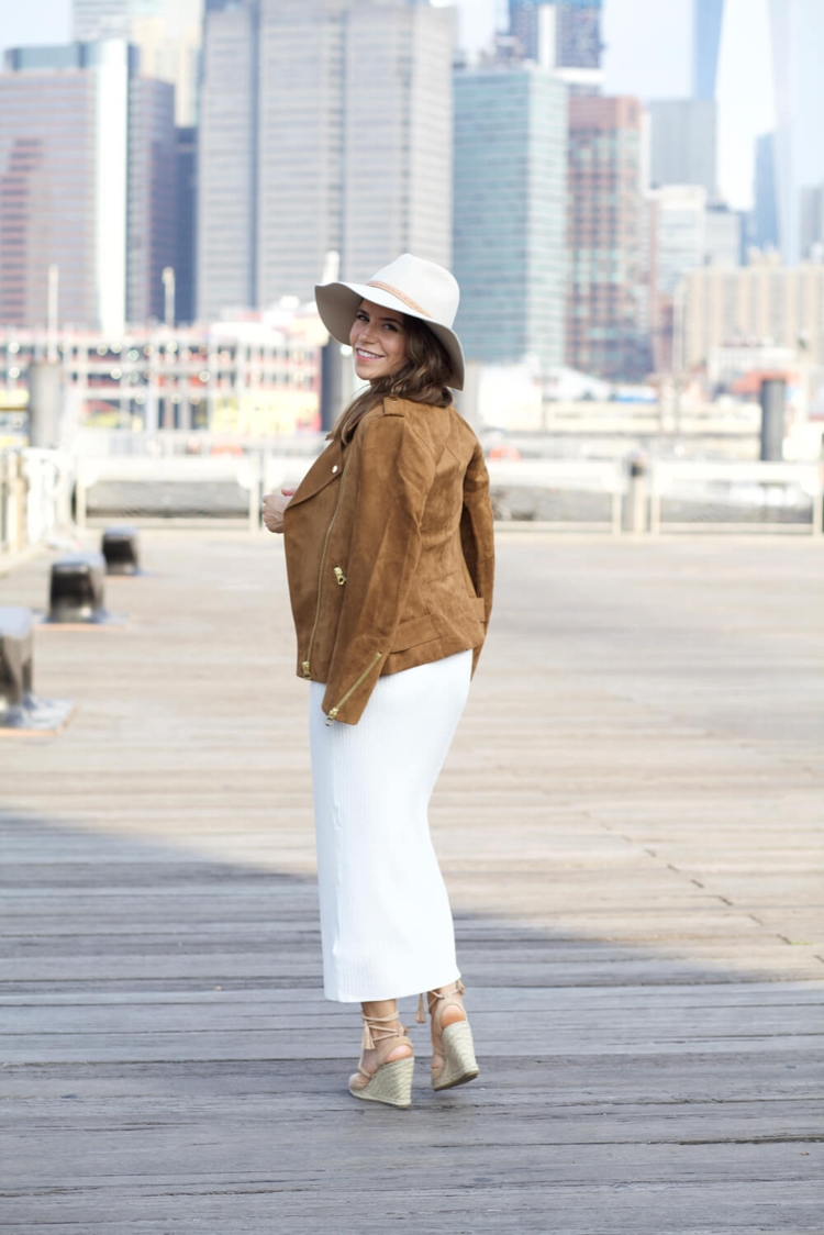 hm-faux-suede-jacket-white-dress-ag-denim-stripe-off-shoulder-top-pencil-skirt-cami-fall-outfit-nordstrom-hat-corporate-catwalk8