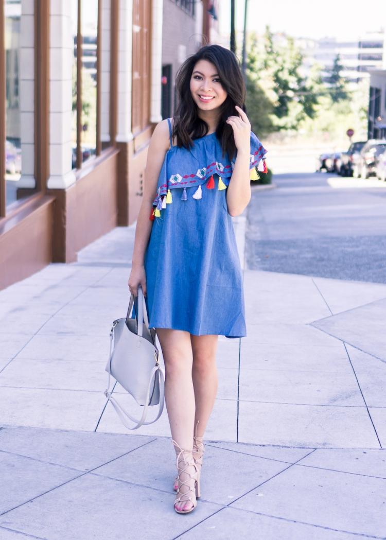 justatinabit-shein-tassel-one-shoulder-dress-summer-outfit-ivanka-trump-kavita-lace-up-sandals-petite-fashion-blog-5